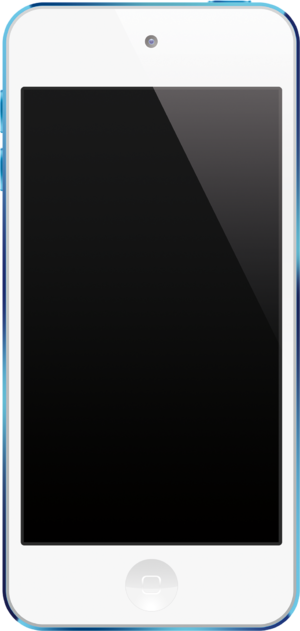 IPod Touch (5th generation) - Image: Blue i Pod touch 5th Generation
