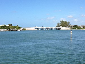 Boca Grande Causeway - Image: Boca Causeway South Bridge