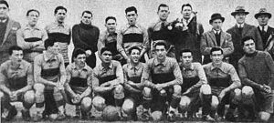 1925 Boca Juniors tour to Europe - The complete delegation (players and executives) that toured on Europe in 1925.