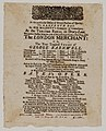 Bodleian Libraries, Playbill of Drury Lane Theatre, July 27, 1731, announcing The London merchant- or, The true tragical story of George Barnwell &c..jpg