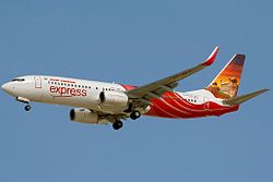 Boeing 737-800 der Air India Express