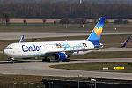 Boeing 767-330-ER Condor D-ABUZ (13520044813).jpg