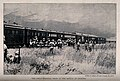 Boer War; a hospital train at the Battle of Colenso with sol Wellcome V0015601.jpg