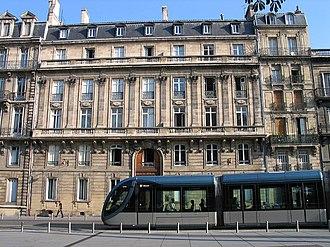 Station Hôtel de Ville (Tram de Bordeaux) - Tram place Pey-Berland