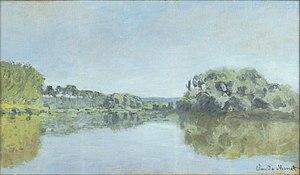 Argenteuil - Claude Monet - Bords de la Seine à Argenteuil 1875