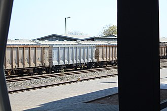 Botswana Railways - Image: Botswana Rail Express train 5