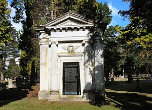 Samuel Boulton - Boulton is buried in the family vault in Brookwood Cemetery