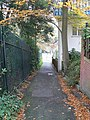 Bournemouth, steep path to the Gardens - geograph.org.uk - 1038873.jpg