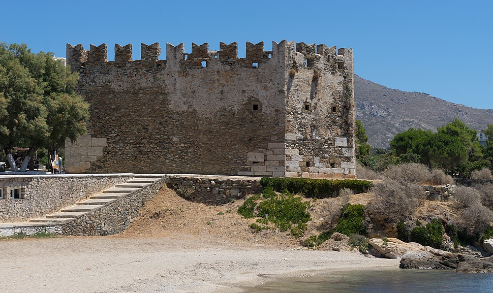 Bourtzi castle Karystos Euboea Greece