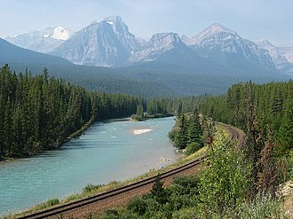 Bow River - Image: Bow river banff np