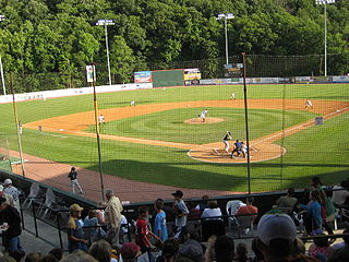 Bowen Field at Peters Park baseball stadium in Bluefield, Virginia
