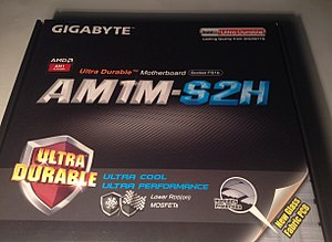 Gigabyte Technology - Image: Box of AM1M S2H