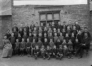 Boys, Newcastle Emlyn school (1892)