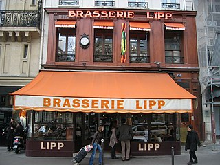 brasserie located at 151 Boulevard Saint-Germain in the 6th arrondissement of Paris