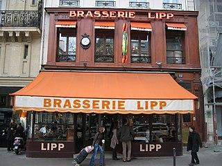 Brasserie type of restaurant