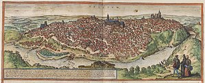 Toledo, Spain - Toledo in the 16th century