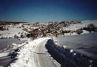 Breitenbrunn, Saxony - Breitenbrunn in winter