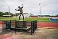 Brett Favre Statue, Kiln Mississippi (49228564726).jpg