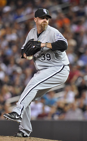 Brett Myers - Myers with the Chicago White Sox