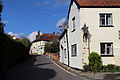 Bridge Road looking towards Church Road at Moreton village, Essex, England.jpg