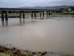 Bridge over the River Tuman (View from China).JPG