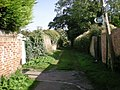Bridlepath parallels Grosvenor Avenue - geograph.org.uk - 1534353.jpg