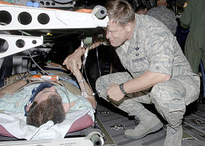 Frank Gorenc - Gorenc, thanks an injured service member for his service.