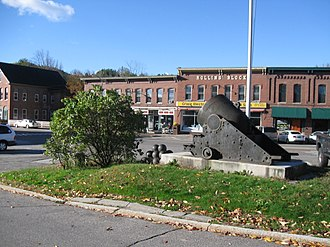 Bristol, New Hampshire - Image: Bristol NH Central Square Oct 2012