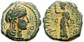 Bronze coin of Aretas IV from 3 BC.jpg