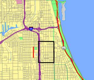 Black Metropolis–Bronzeville District district in Chicago, Illinois, USA