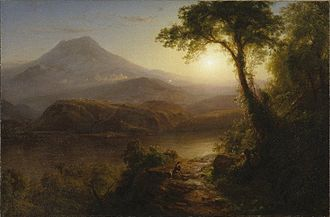 Frederic Edwin Church - Tropical Scenery (1873)