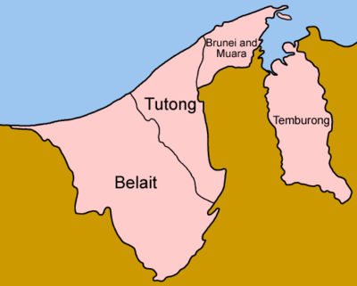 Distritos do Brunei