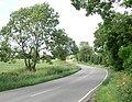 Bruntingthorpe Road near Shearsby - geograph.org.uk - 876921.jpg