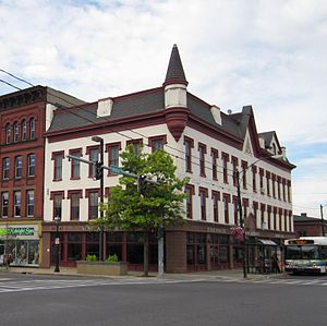 National Register of Historic Places listings in Oswego County, New York - Image: Buckhout Jones Building