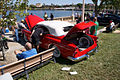 Buick Skylark 1953 Convertible LSideRear Lake Mirror Cassic 16Oct2010 (14690796687).jpg
