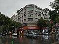 Buildings in Huangzhou Town, Xinhuang Dong Autonomous County, Hunan, China, 20 December 2019a.jpg
