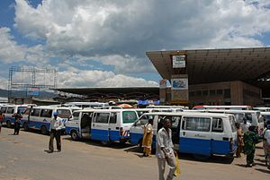 Bujumbura - The Bujumbura bus station