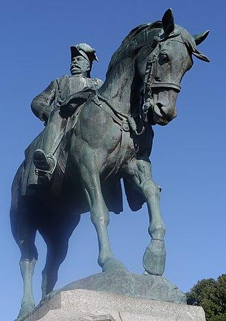 Adrian Jones (sculptor) - Statue of Redvers Henry Buller in Exeter.