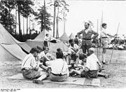 Bundesarchiv Bild 102-14642, Berlin-Grunewald, Zeltlager der bündischen Jugend