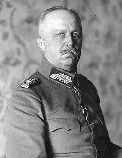 Erich Ludendorff German Army officer