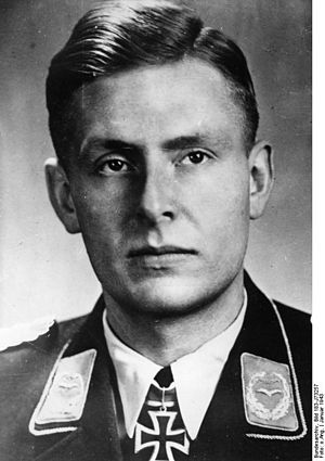 Major (Germany) - Major Helmut Viedebantt (1943)