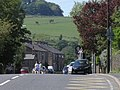 Burnley Road (A646) at Holme-in-Cliviger - view towards Burnley - geograph.org.uk - 1343153.jpg