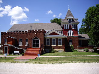 Burns, Kansas - Burns United Methodist Church (2010)