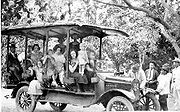 A bus in Cúcuta, Colombia in 1920