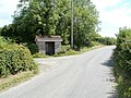 Bus shelter and disused phonebox, Earlswood - geograph.org.uk - 2506568.jpg