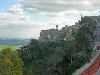 Butera Comune in Sicily, Italy