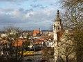 Bydgoszcz - widok miasta na prawo budynek sądu a w oddali Fara . - panoramio.jpg