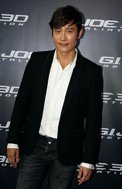 Byung-Hun Lee in Sydney, Australia, on 14th March 2013.jpg