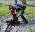 C&O Railway Heritage Center - railroad switch - 2.jpg