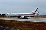 C-GXRB DC10 Wardair BHX 27-07-1984 (31839829440).jpg